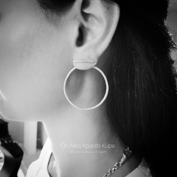 Front back Earring