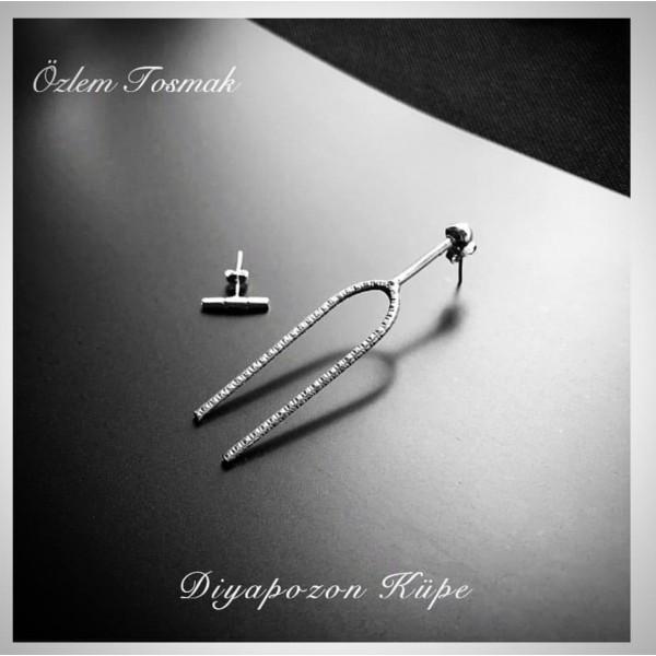 Diapason (Tunning fork) Earring