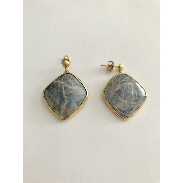 Sapphire Stone Earring