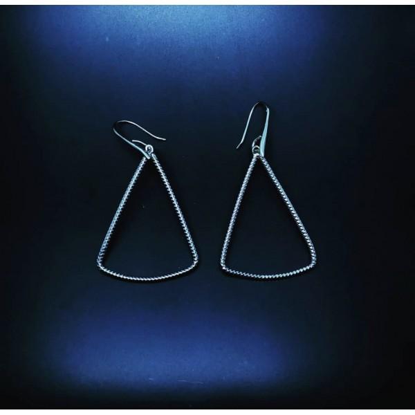 Triangle Pattern Earring